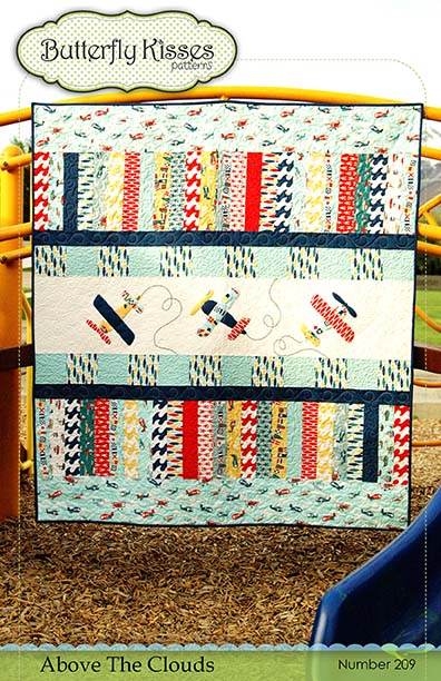 Above The Clouds Quilt Pattern Cover