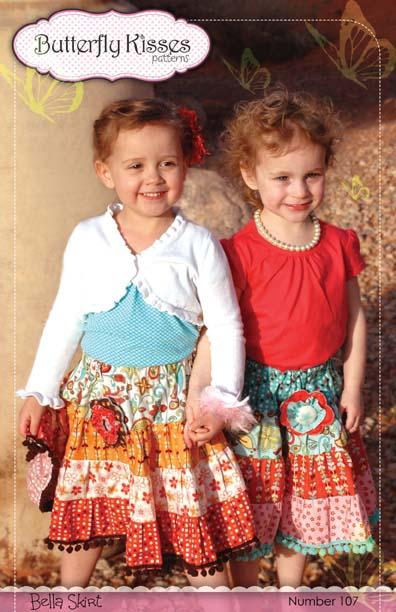 Bella Skirt Pattern Cover