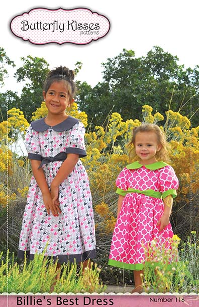 Billies Best Dress Pattern Cover