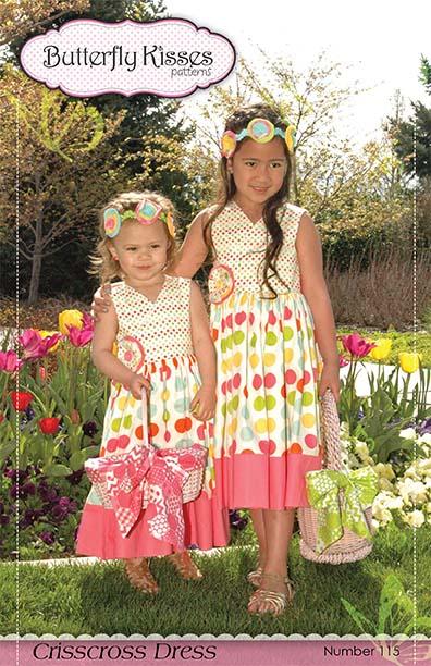 Crisscross Dress Pattern Cover