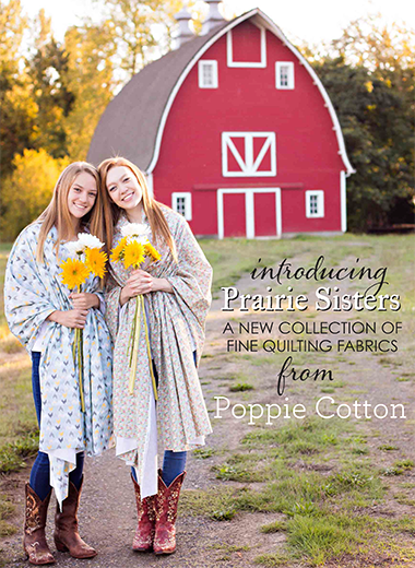 Prairie Sisters by Poppie Cotton