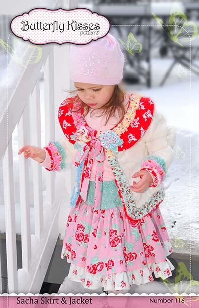 Sacha Skirt Pattern Cover