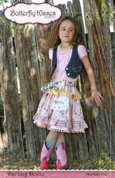 Darling Doilie Skirt Pattern Cover