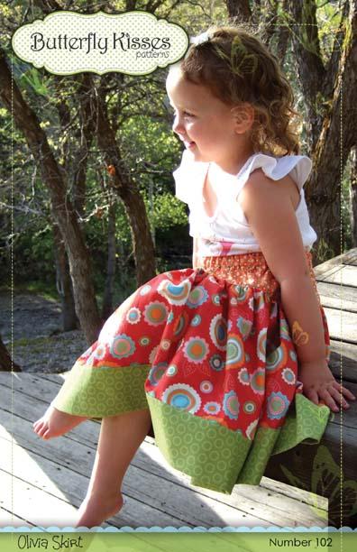 Olivia Skirt Pattern Cover