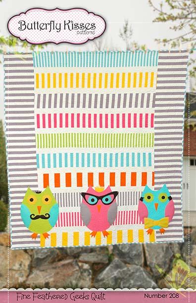 Fine Featured Geeks Quilt Pattern