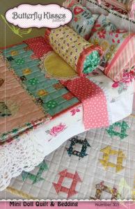 Mini Doll Quilt & Bedding Pattern
