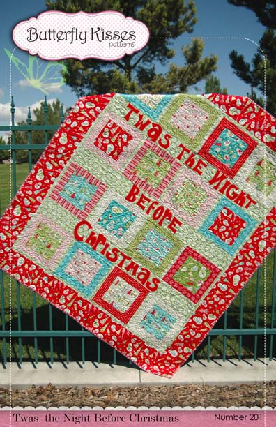 Night Before Christmas Quilt Pattern