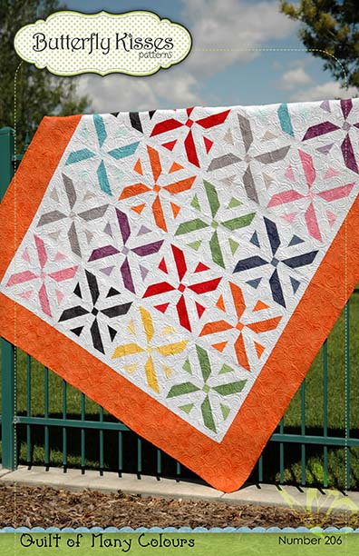 Quilt of Many Colours Quilt Cover