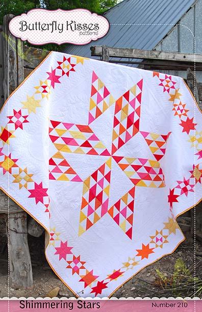 Shimmering Stars Quilt Pattern