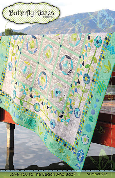 Love You To The Beach And Back Quilt Pattern
